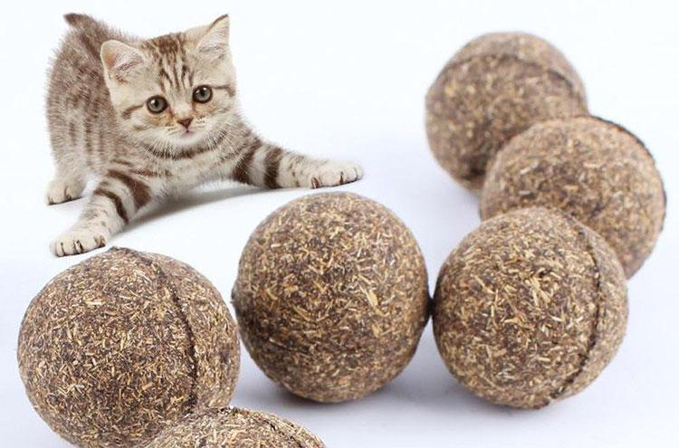 шарики с кошачьей мятой